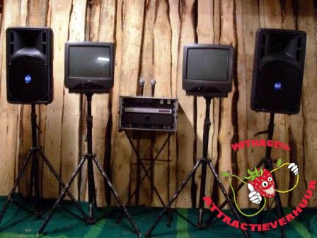 Karaoke set 1 karaoke speler / mixer