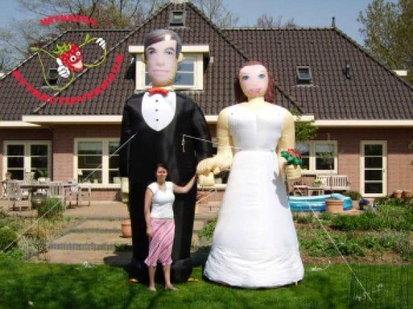 Bruidspaar pop huren