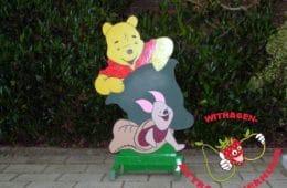 Geboorte bord Winnie the Pooh met Knorretje
