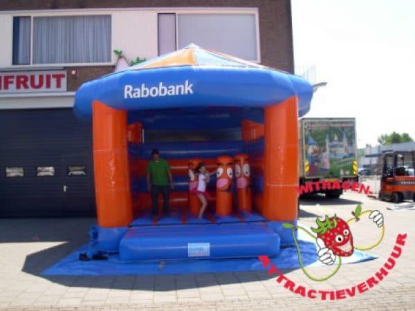 Rabobank springspeelkussen
