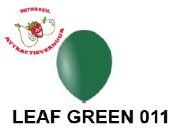 Helium Ballon LEAF GREEN 011