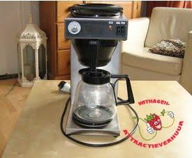 Koffiezet apparaat 2 kannen