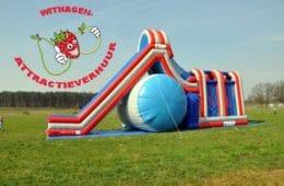 Schans glijden Double airborne slide