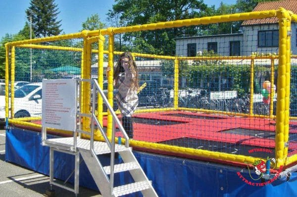 Multi Trampoline 6 vaks trampoline
