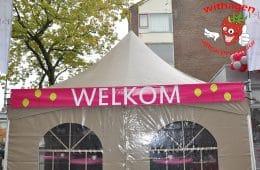 Welkom banner