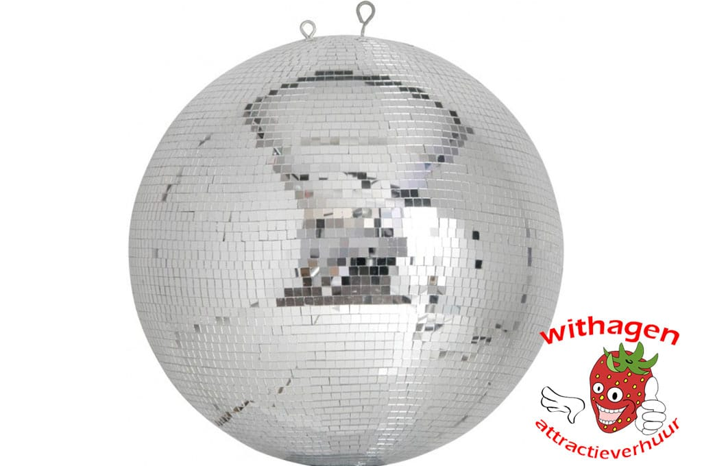 Spiegelbol 50 cm + motor & lamp