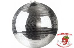 Spiegelbol 100 cm + motor & lamp