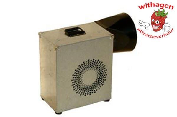 Extra blower 1500 watt per dag