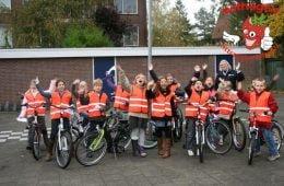 Veiligheidsvest kinderen oranje