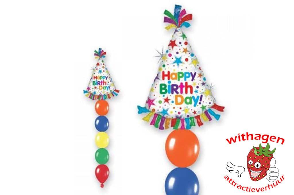 Helium Ballon Happy Birthday Hat