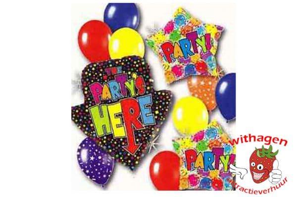 Helium Ballon Party's Here