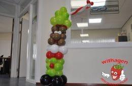 Ballonnen zwarte piet