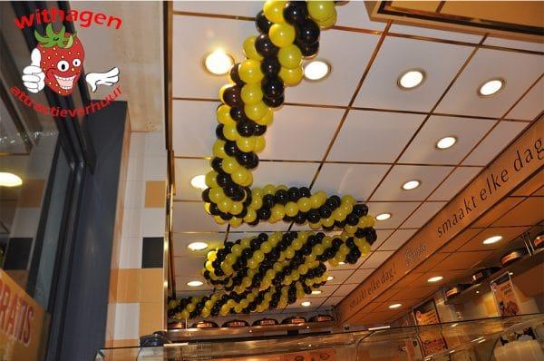 Ballonnen slinger per meter 13 cm ballon