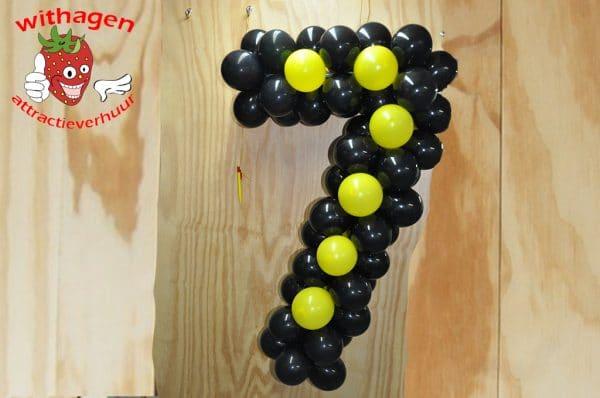 Ballonnen cijfer 7