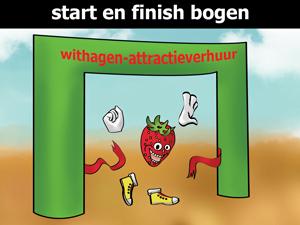 Start en finish bogen