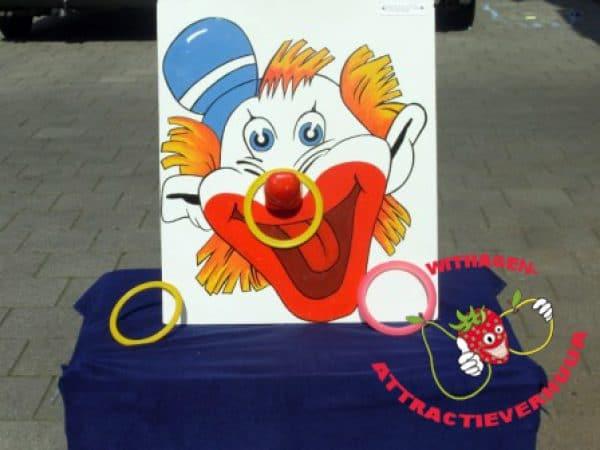 Clownsneus ringwerpen