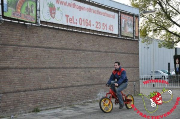 Slinger hobbel fiets huren