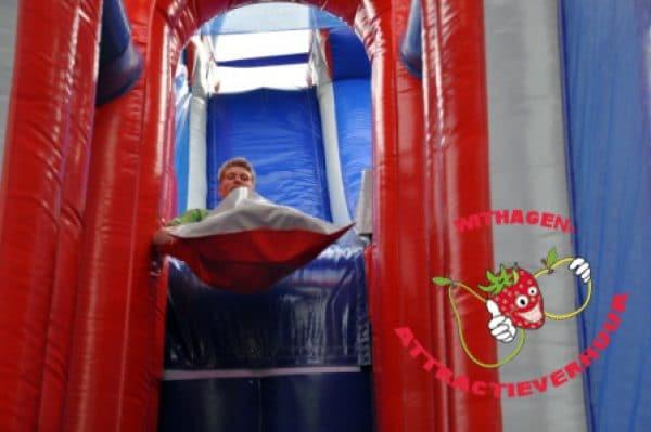 Schans glijden Double airborne slide huren