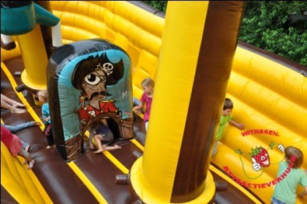 piraten opblaasboot