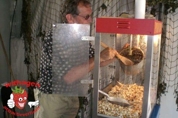 Popcorn machine Goldrush