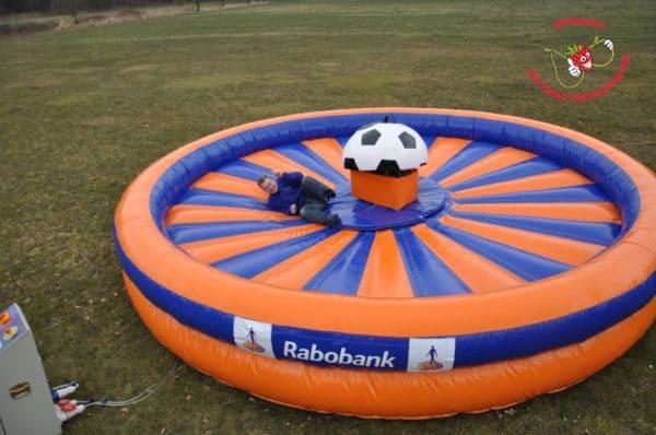 Rabobank rodeoattractie voetbal