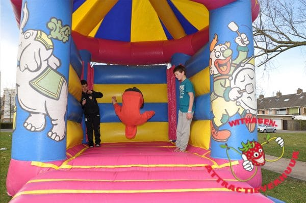Circus springkussen