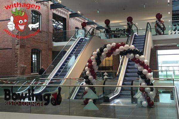 Ballonnen boog 6 meter
