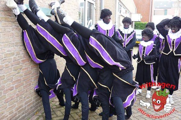 Acrobaten Zwarte pieten