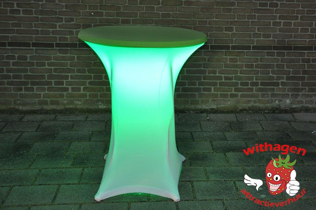 Sta Tafel Huren : Statafel met ledverlichting huren withagen attractieverhuur