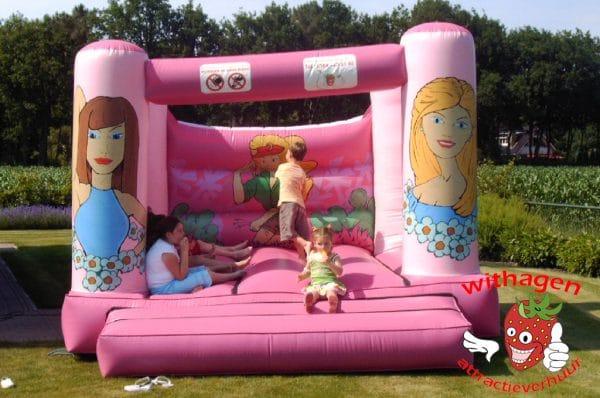 Barbie springkussen zonder dak