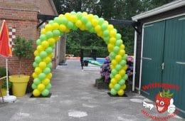 Ballonnenboog Geel-Groen