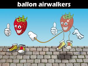 Ballon airwalkers