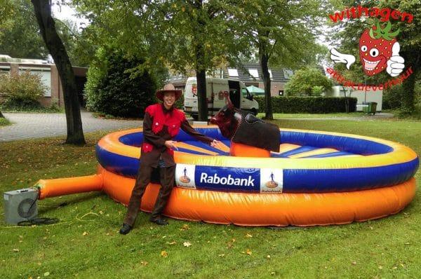 Rabobank rodeo stier