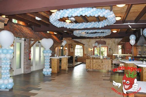 Ballonnen versiering huren