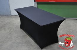 buffettafel hoes zwart stretch