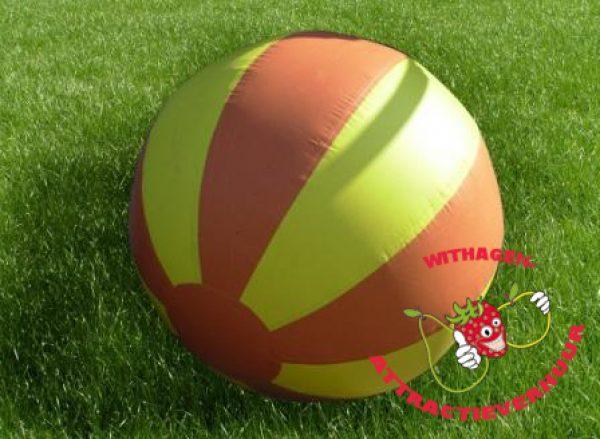 Wereldbal (reuzebal) bruin/geel