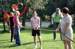 Touw trek touw
