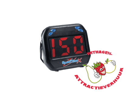 Snelheidsregistratie meter eenvoudig