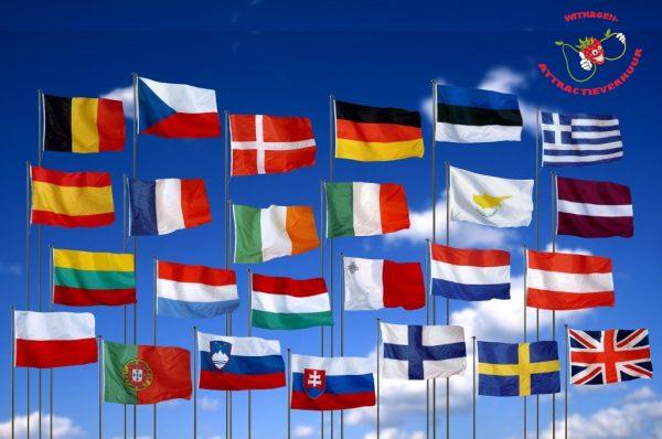 Vlaggenmast vlaggenstok