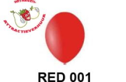 Helium Ballon RED 001