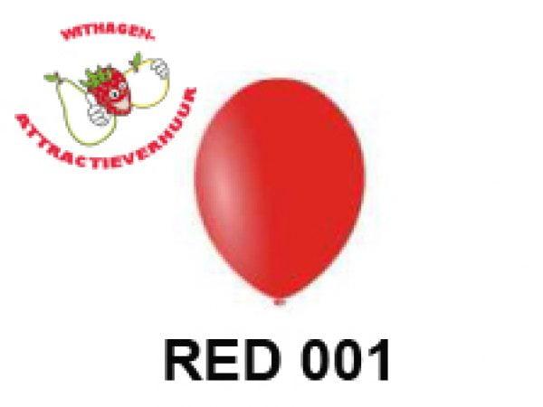 Helium Ballon RED 001