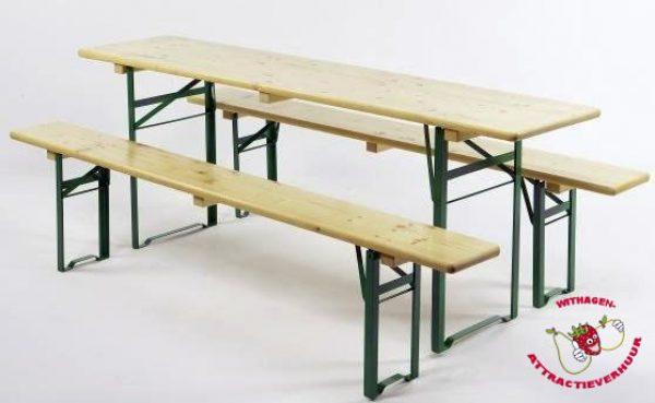 Bierbanken + tafel