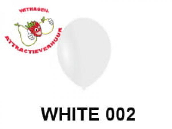 Helium Ballon WHITE 002