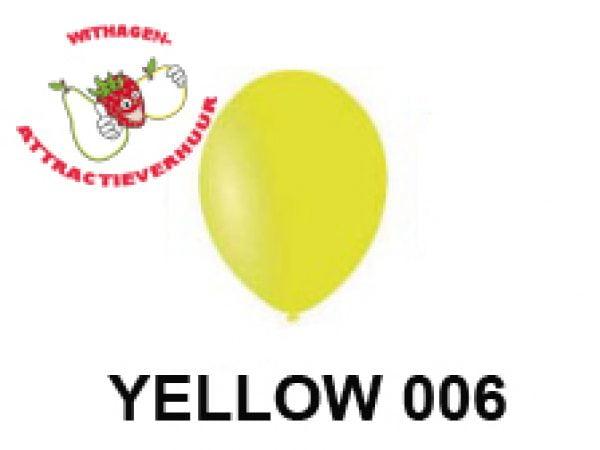 Helium Ballon YELLOW 006