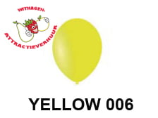 Helium Ballon YELLOW 006