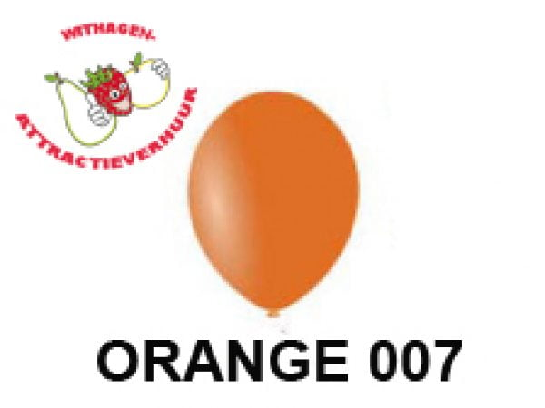 Helium Ballon ORANGE 007