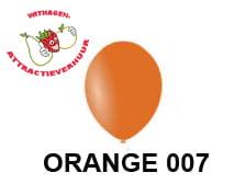 Helium Ballon ORANGE 007