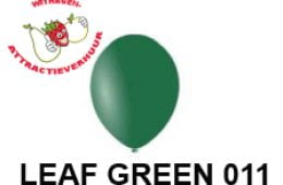 Helium Ballon LEAF GREEN 011