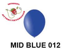 Helium Ballon MID BLUE 012