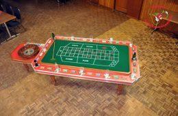 Mobiele Roulette tafel